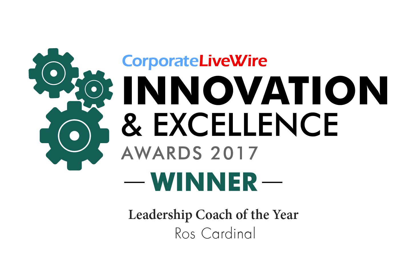 Image: Corporate LiveWire Innovation and Excellence awards 2017 Logo.