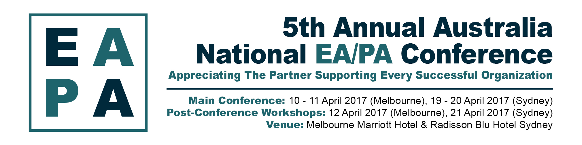 Fifth Annual Australian National EA/PA Conference